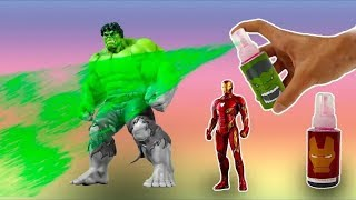 Download learn colors with superheroes marvel and paint with color paints hulk spider man and thanos Video