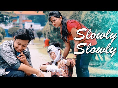 Xxx Mp4 Slowly Slowly Guru Randhawa Cute Funny Love Story Latest Hindi Song 2019 RS Rhythm 3gp Sex