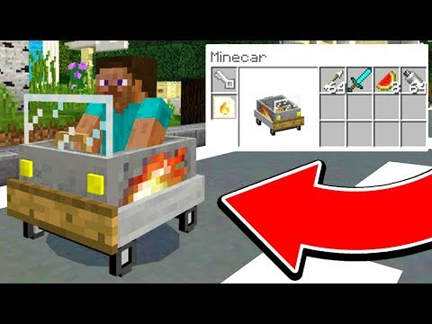 HOW TO BUILD A WORKING CAR IN MINECRAFT! (FLYING CARS)