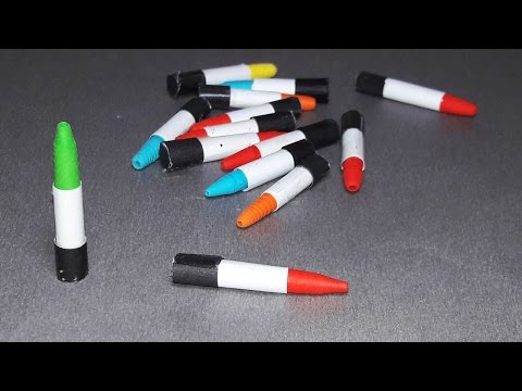 |DIY | How to make a paper bullets  - By Dr. Origami