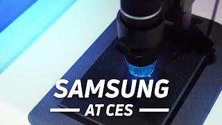 Samsung TVs at CES 2018