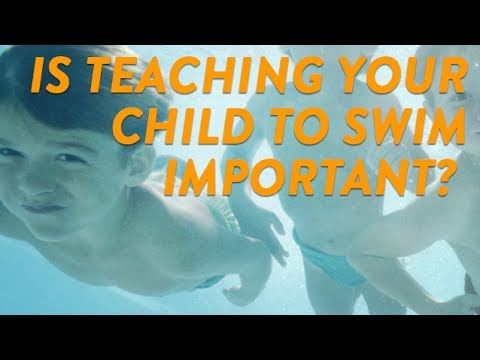 Is Teaching Your Child To Swim Important? | CloudMom