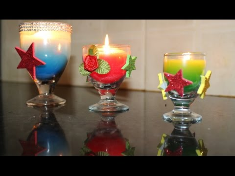 How to make a CANDLE /  EASY DIY CANDLES from CRAYONS