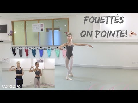FOUETTÉS ON POINTE!