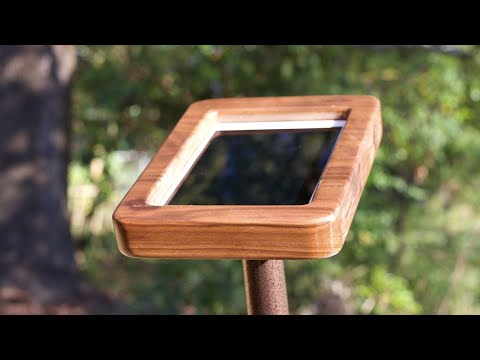 DIY/How To Make an iPad/Tablet Stand