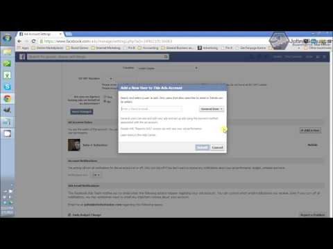 How to Make Admin for Facebook Advertising Account Access - johnfschuster