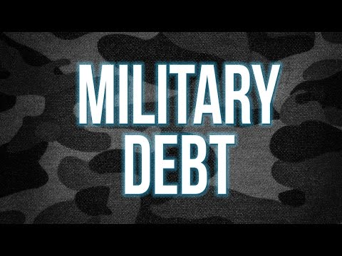 Joined the Military and Now in Debt