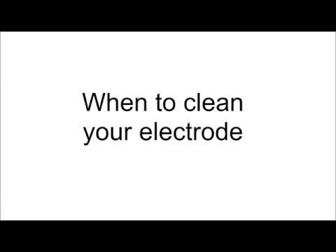 pH Maintenance:  How to clean an Orion pH electrode