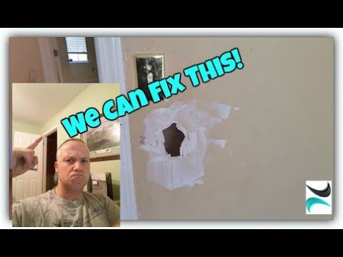 How to Patch a Hole in the Wall, Easy Step by Step