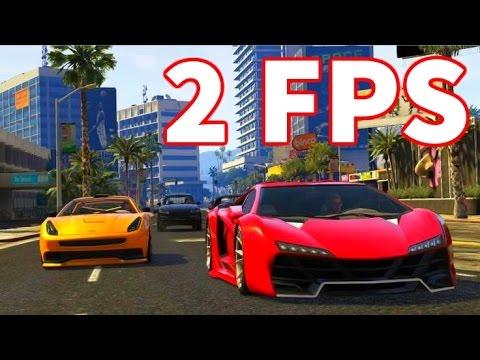 GTA 5 Racing on an AMD (Burger Shot Stallion)