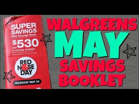 Walgreens MAY Savings Booklet Preview 2018