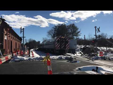 Railfanning The Springfield Line Amtrak Vermonter & *RARE* CT DOT Test Train