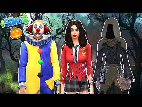 The Sims 4 - HALLOWEEN COSTUMES!! SIMS 4 Gameplay, Episode 12! (Sims 4 Gameplay)