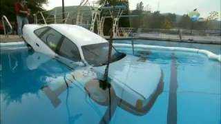 Can Adam Escape a Sinking Car? | MythBusters