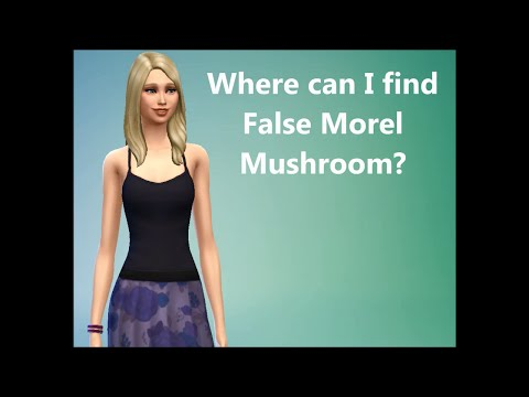 Sims 4 FAQ: Where can I find False Morel Mushroom?