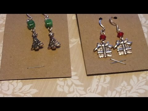 Create Simple Earring Display Cards - DIY Crafts - Guidecentral