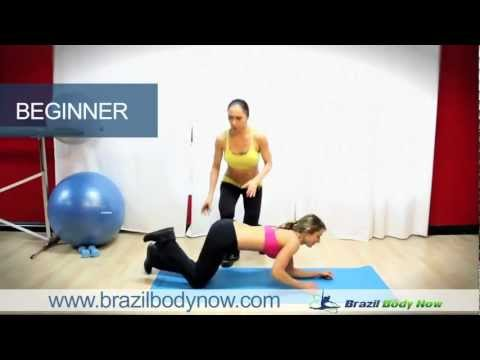 Workouts For Women: How To Get Sexy Abs by Brazil Body Now