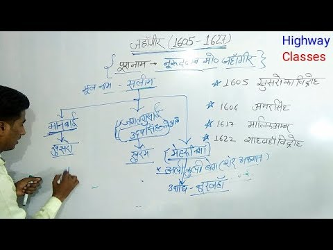 मुग़ल काल Part-7 जहाँगीर for competitive exam by Gaurav sir