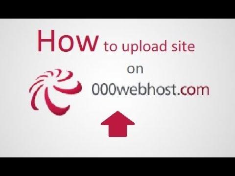 how to upload site on hostinger/000webhost   full tutorial