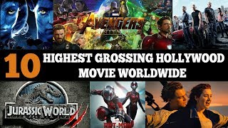 10 Highest Grossing Hollywood Movie Worldwide | Simbly Chumma
