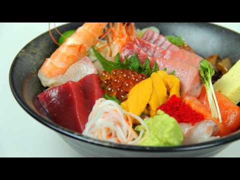 Ootoro Sushi Chirashi Lunch Special | Walnut Sashimi | Los Angeles