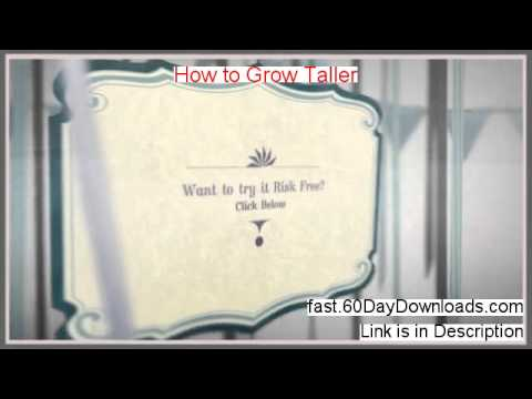 How To Grow Taller review with download link