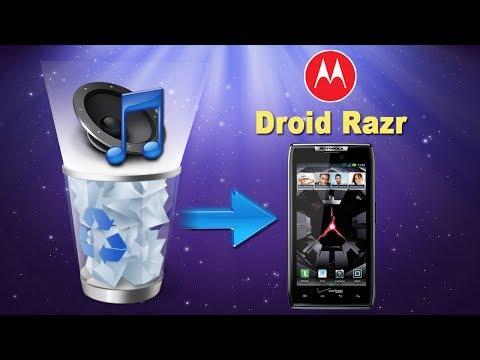 [Motorola Droid Razr Data Recovery]: How to Recover Deleted Music from MOTOROLA Droid Razr?
