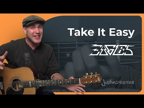 How to play Take It Easy by The Eagles (Guitar Lesson SB-402)