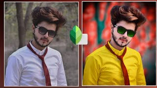 Snapseed background colour change || amazing tricks || best photo editing  tutorial pixel editor
