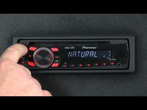 FAQ - DEH-1300MP - Audio Functions