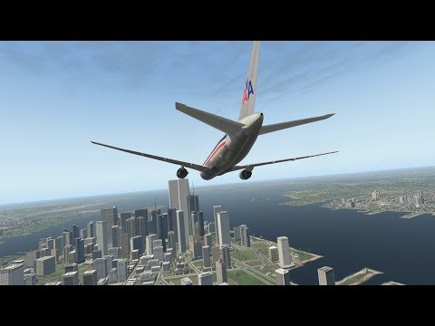 9/11 - The North Tower Strike - American Airlines Flight 11 - XP11