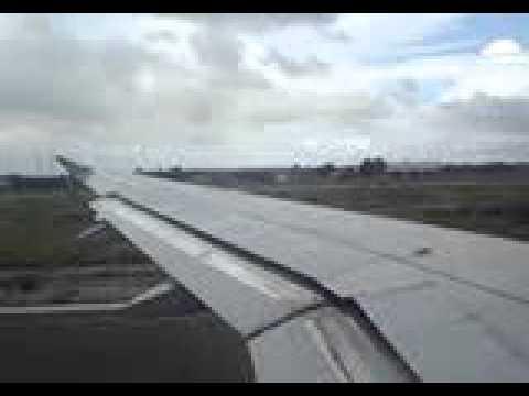 jetblue takeoff in aruba flight 756