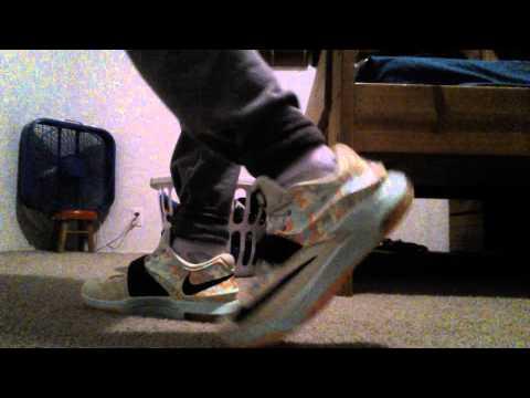 Kd 7 easter on feet