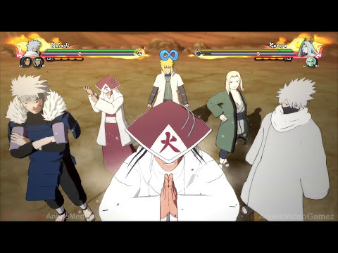 Naruto Shippuden Ultimate Ninja Storm 4: DLC#1 - All NEW Characters Team Ultimate Jutsus (60FPS)