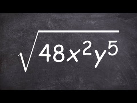 Simplify a radical expression with variables - Geometry help