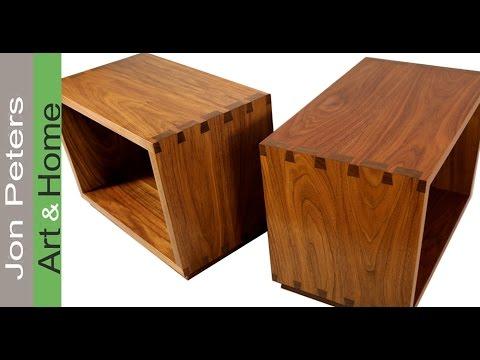 Black Walnut Tables - A Fine  Furniture Build
