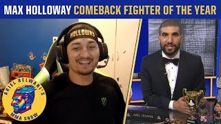 Max Holloway on battling depression, what's next in 2019 | Ariel Helwani's MMA Show