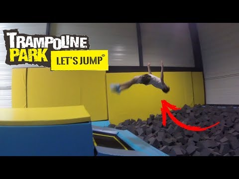 TRAMPOLINE PARK - [awesome tricks] 2017