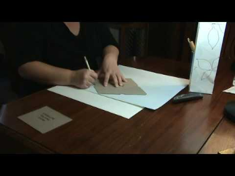 How to Make a Matching Envelope For Your Gift Bag