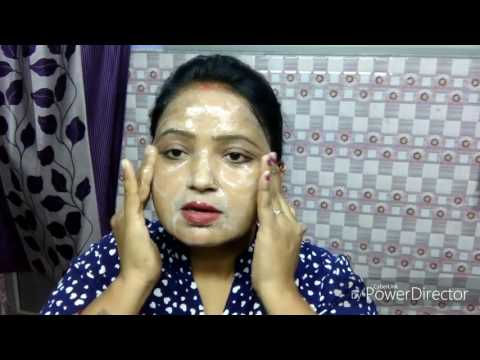 Egg white skin tightening  pack { Hindi }