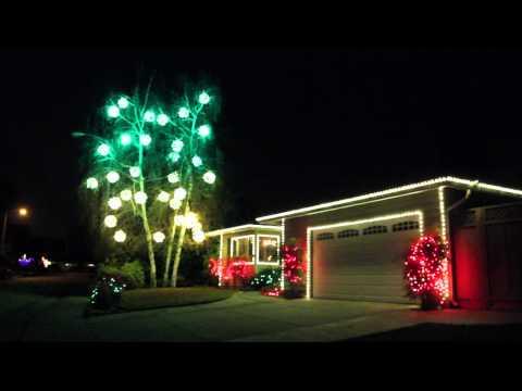 Greenbrier Christmas Balls  •  Greenbrier Park Dr., Fremont CA