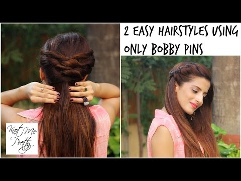 2 Quick and Easy Twist Hairstyles For School, College, Work/ Indian Hairstyles For Medium/Long Hair
