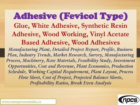 Adhesive (Fevicol Type), White Adhesive, Synthetic Resin Adhesive, Vinyl Acetate Based Adhesive