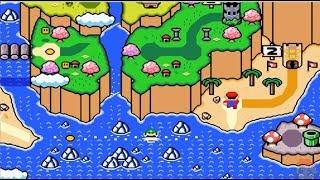New Super Mario World 1 The Twelve Magic Orbs 100 WORLD 5 FOREST