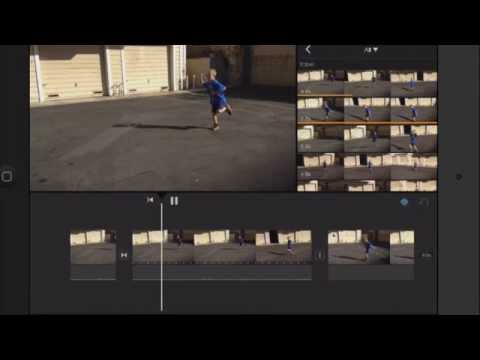 iMovie Tips for iPad: Changing Video Speed