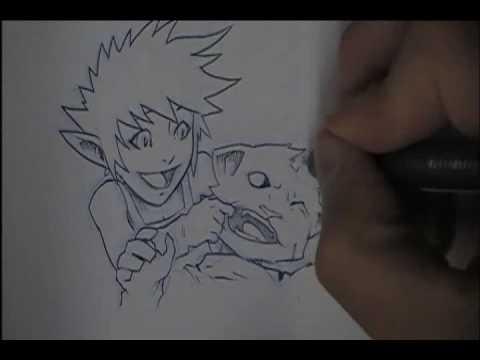 Manga Character (Arithus) Description
