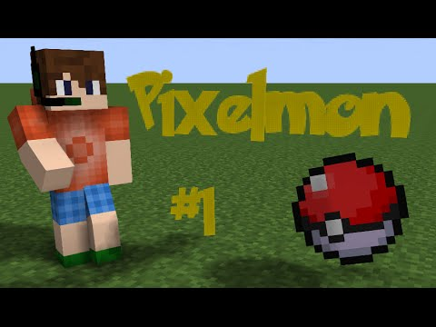 Pixelmon - #1 - Finding A Pokemon Center! | minecraft pokemon adventure
