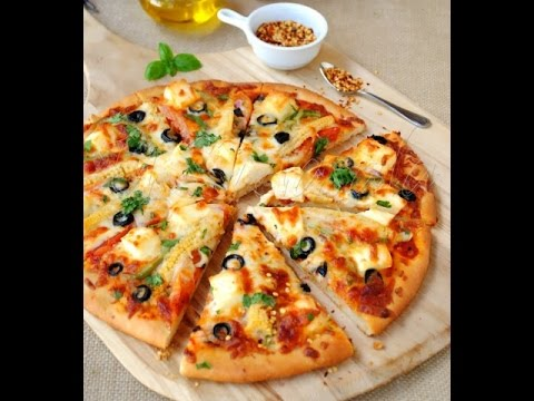 How to Make Paneer Pizza by Seema in Hindi