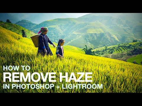 How to Remove Haze in Photoshop + Lightroom