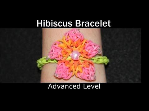 Rainbow Loom® Hibiscus Bracelet